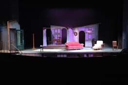 Glass Menagerie Lighting Design College of Wooster Tidwell